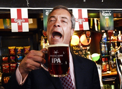 Nigel Farage declares UKIP's 'British only' metal detectingpolicy.